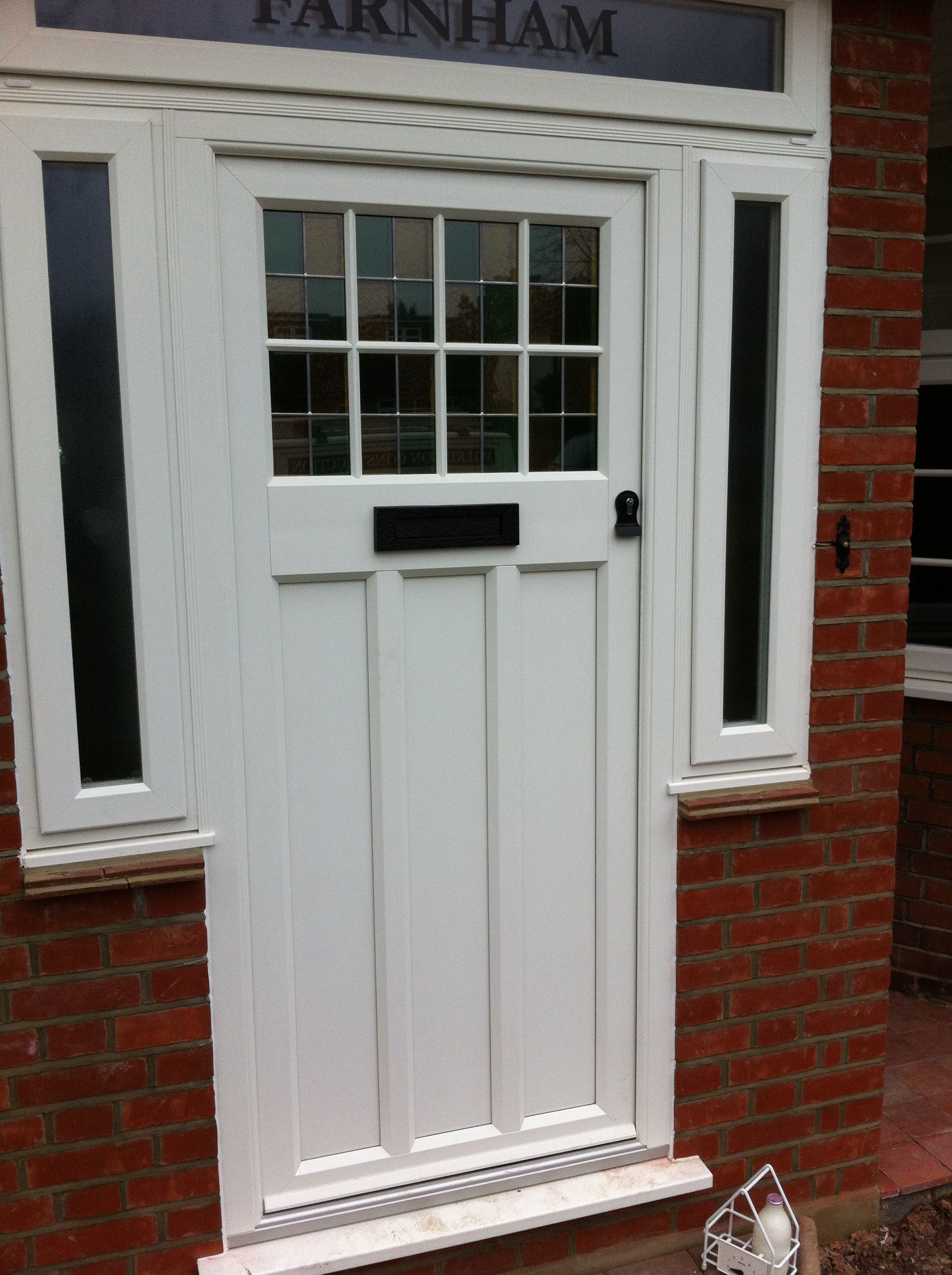 Composite doors dwl windows doors conservatories for Exterior door companies