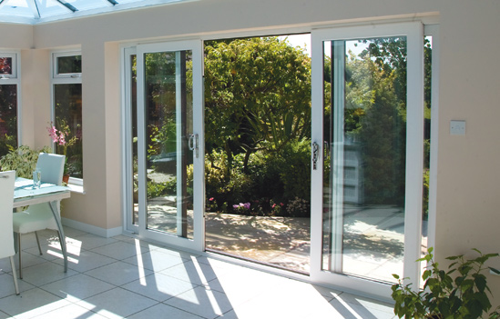 Upvc doors dwl windows doors conservatories in some cases when when the aperture for the new doors are too wide for double doors without adding side panels sliding doors are the right choice planetlyrics Images