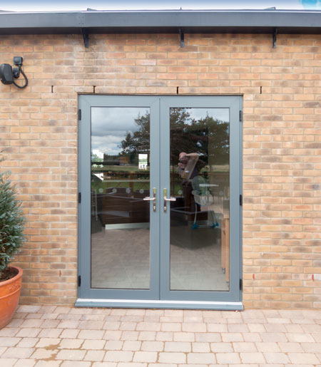 Aluminium Double Doors With Double The Benefits Dwl Windows