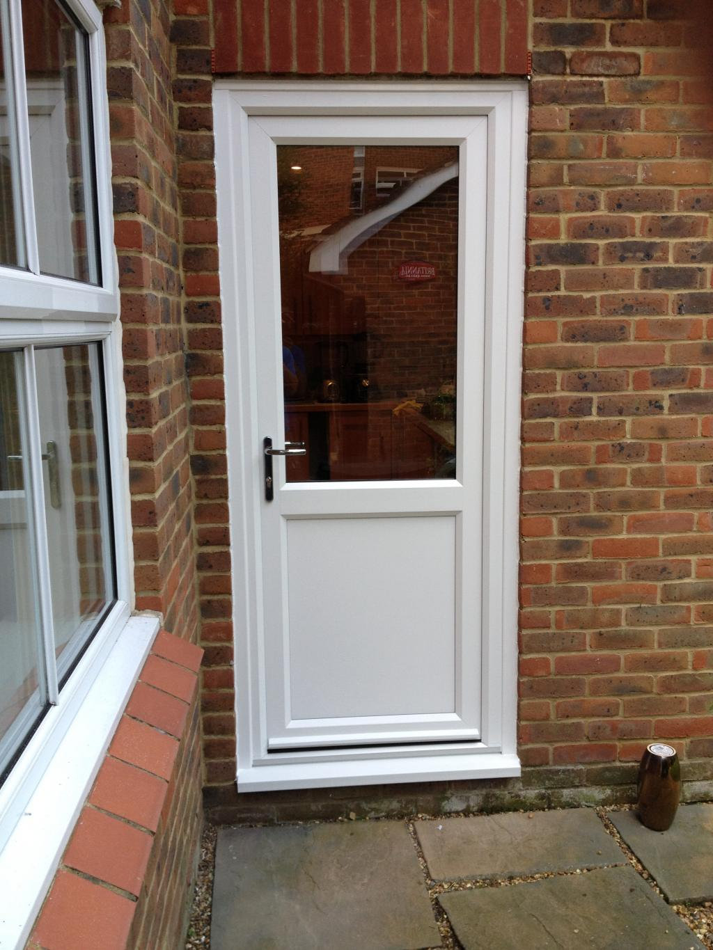 Upvc doors dwl windows doors conservatories for Double glazed upvc patio doors