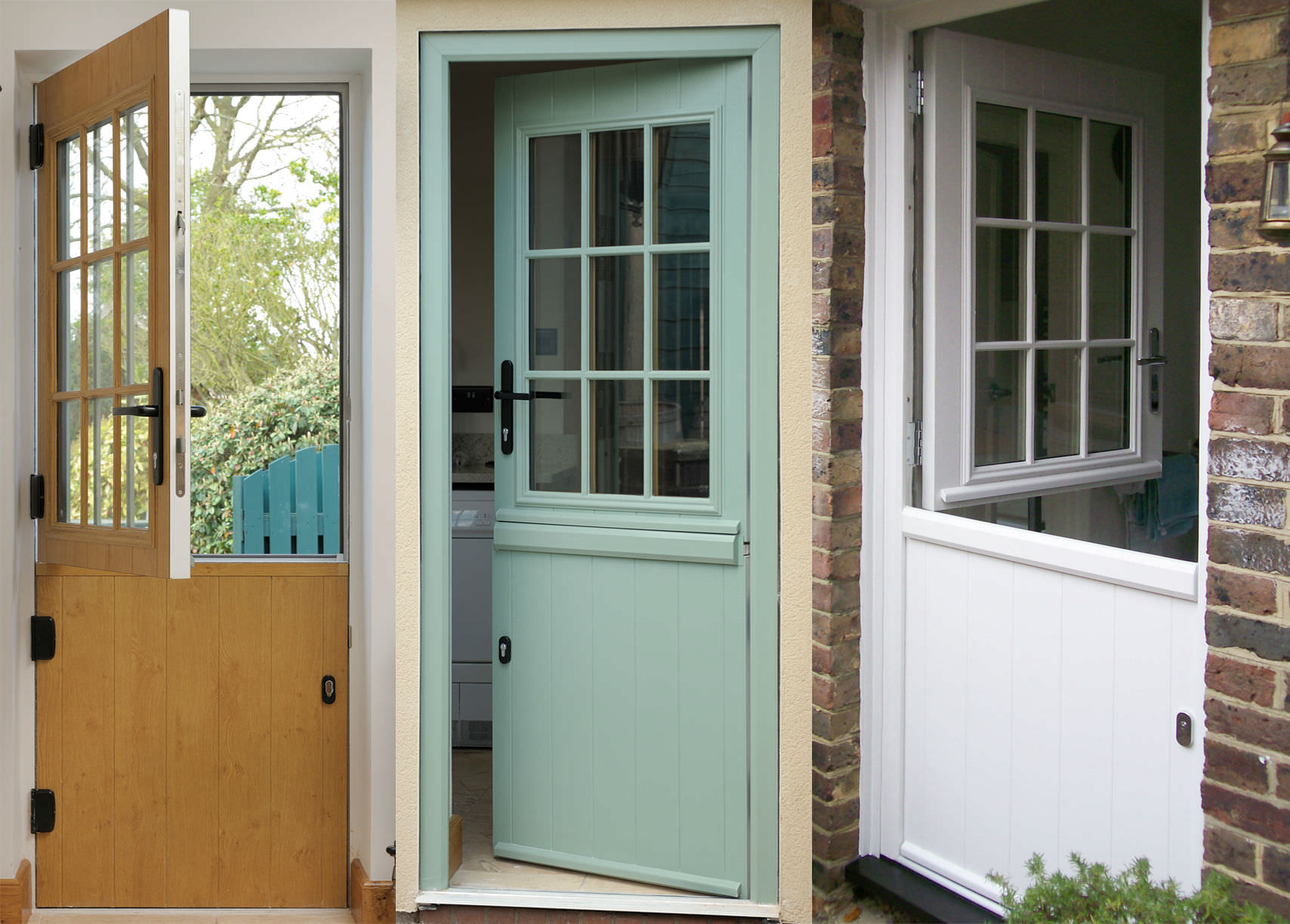 Stable doors dwl windows doors conservatories for Exterior back door with window