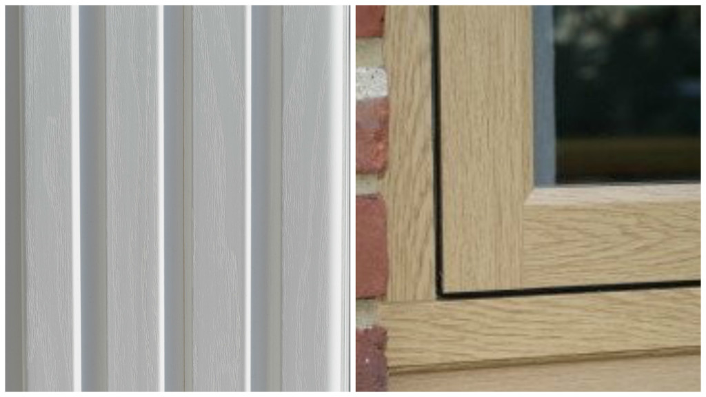 Types of timber effect windows