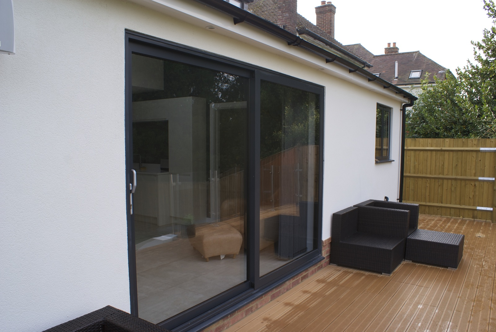 Aluminium Sliding Doors : Aluminium sliding doors dwl windows conservatories