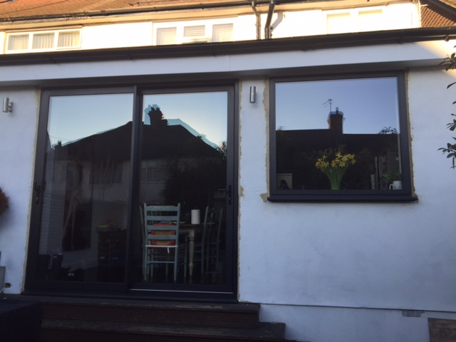 Our Aluminium Black Patio Doors And Window Transformed This South East  London Home.