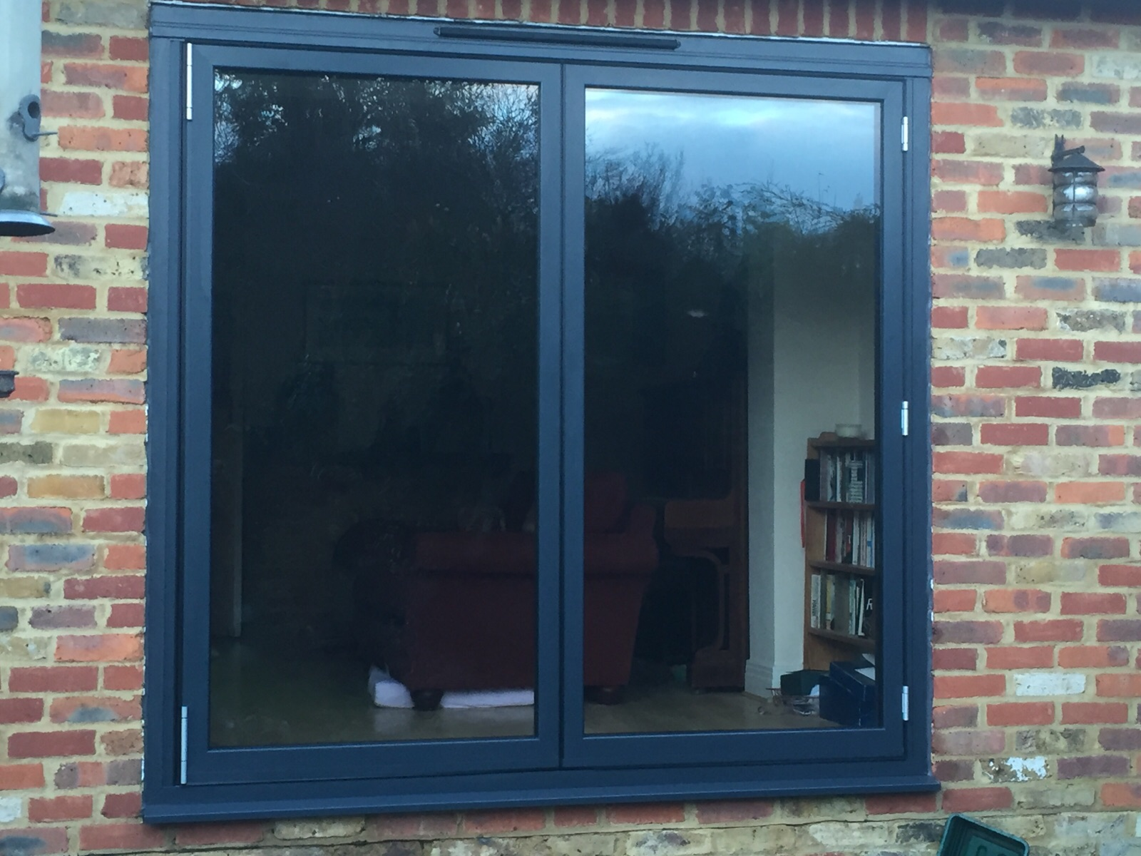 installers of schuco ass70 fd bifolding doors in surrey dwl. Black Bedroom Furniture Sets. Home Design Ideas