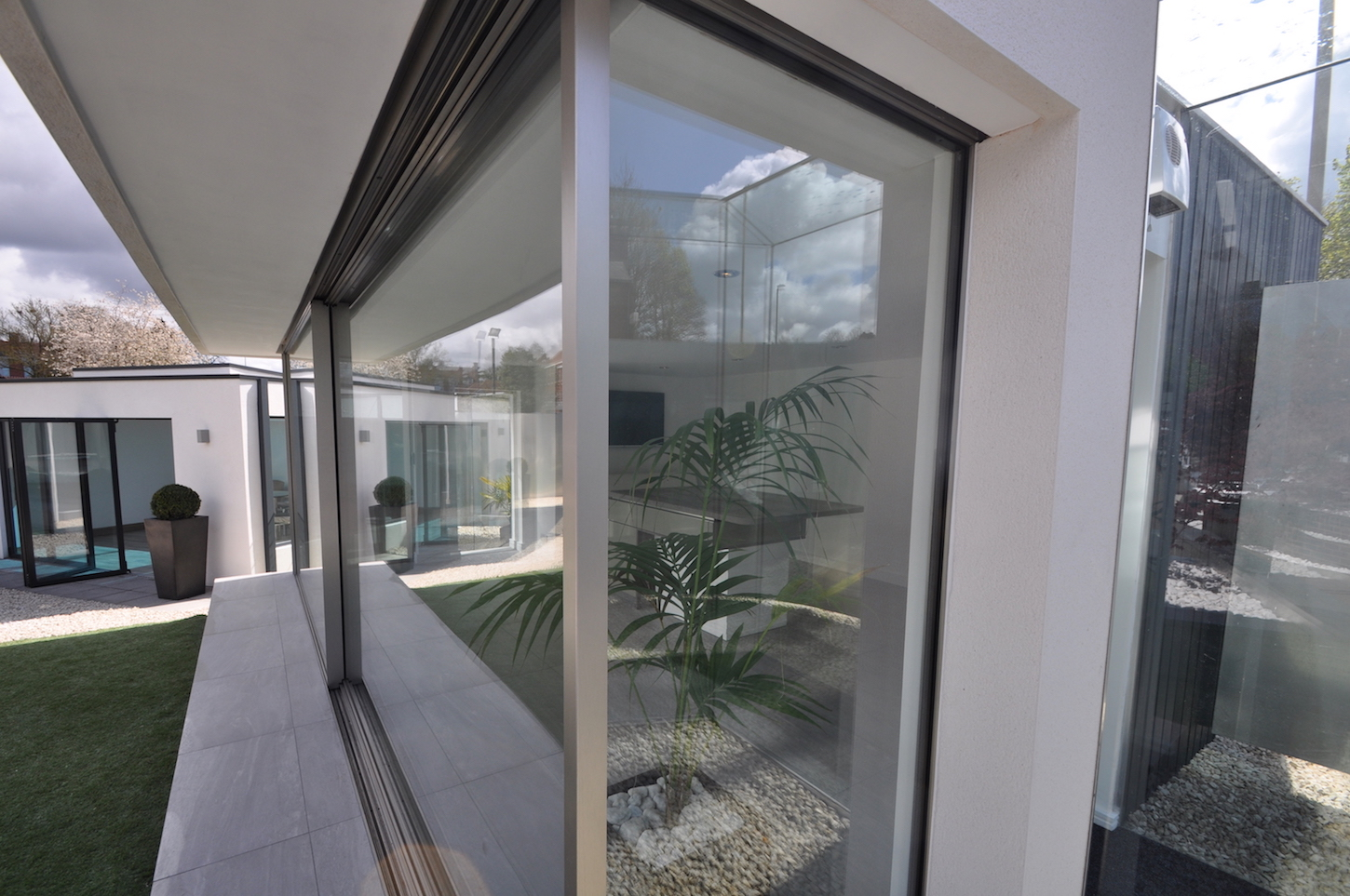 architectural slimline sliding doors dwl windows
