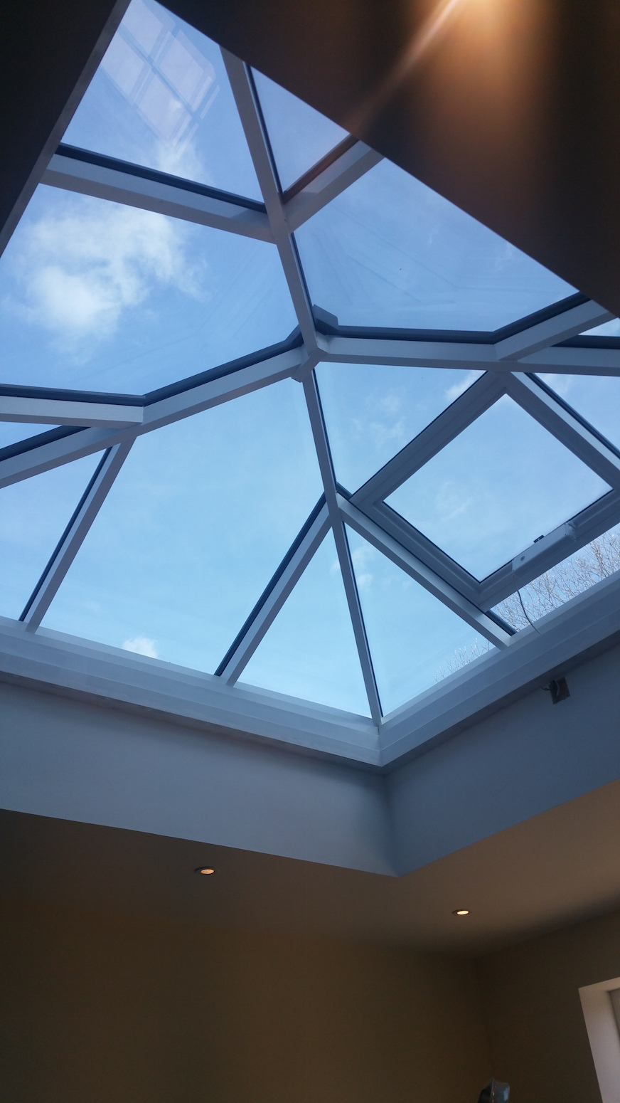 Grey Aluminium Roof Lanterns Installed South East Dwl