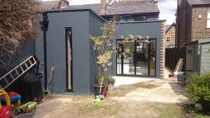 DWL installers of black aluminium doors and windows South East1
