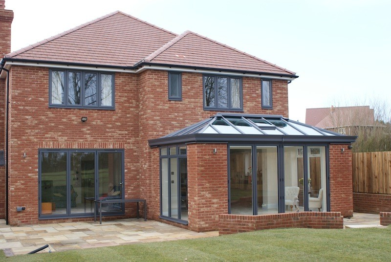 Modern Orangery Supplied And Installed In Maidstone Dwl