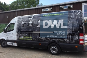 one of the new Van wraps
