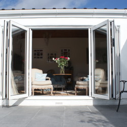 Aluminium doors bifolding doors bifolds in West Malling, Kent