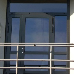 aluminium schuco ADS70 single door DWL kent maidstone