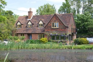 Timber effect coloured windows