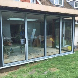 Horton atlas skylight and aluminium bifolds after 4