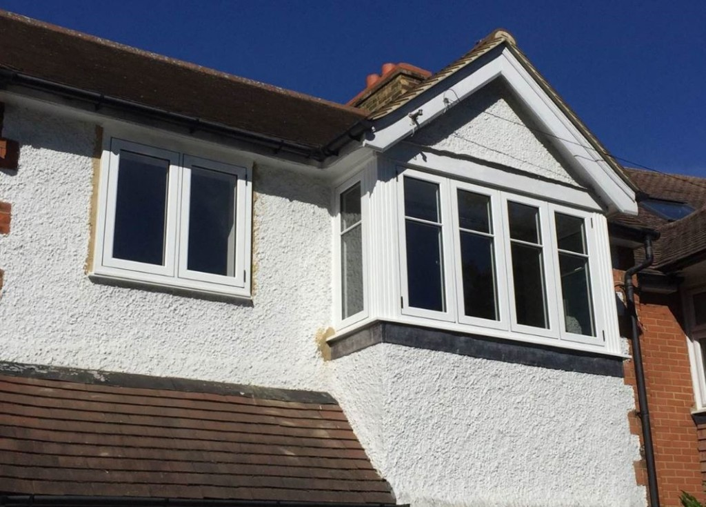 Timber effect windows