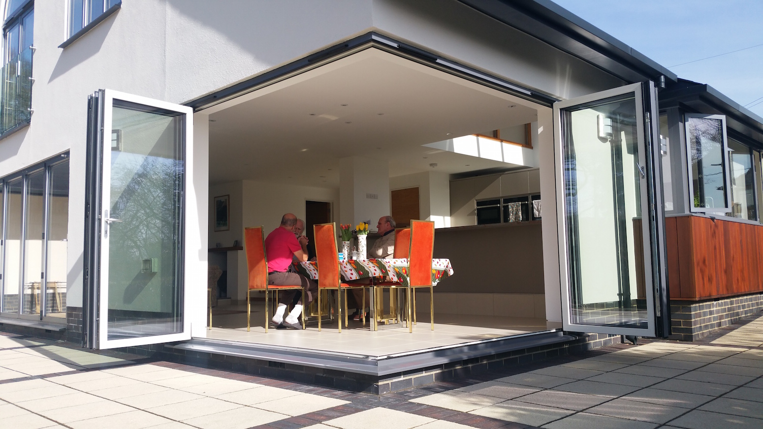 Our Cornerless Bifold Doors And Windows Installed Dwl