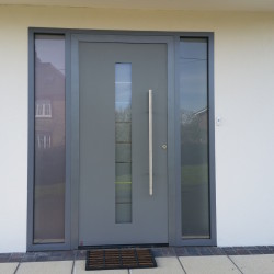 Hormann entrance door in the South East