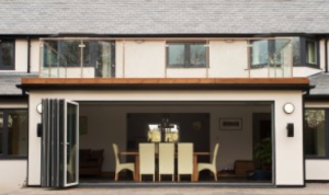Bi-fold doors or sliding doors